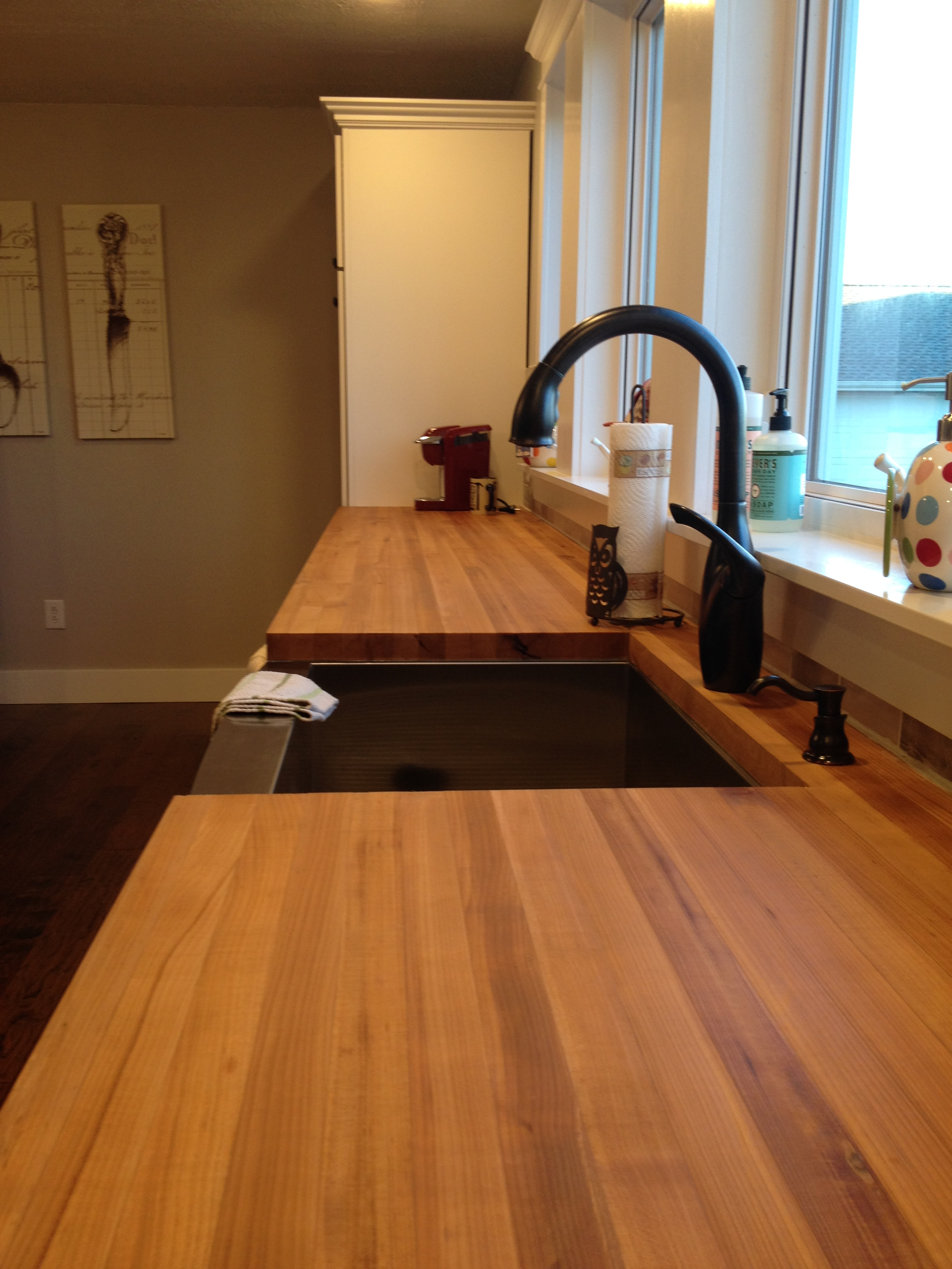 My Take on Butcher Block Countertops...