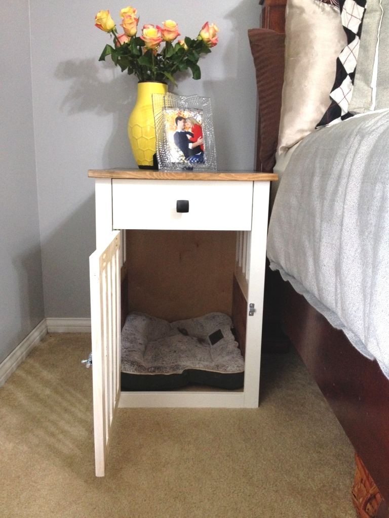 Going To The Dogs Diy Dog Crate Nightstands