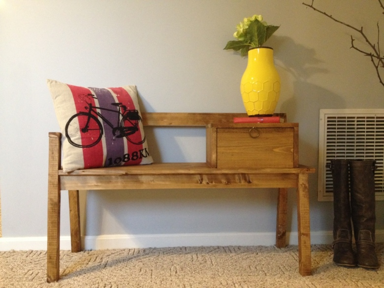 Ana White   DIY Telephone Bench Featuring Chasing A Dream ...